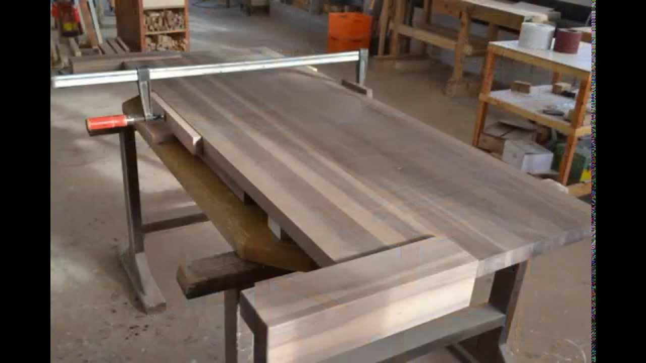 So entsteht ein Massivholz Bett aus Walnuss in der Schreinerei HOLZSIGI  YouTube