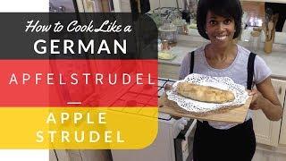 Original Viennese-Style Apfelstrudel (Apple Strudel) Homemade, Delicious & Classic Recipe