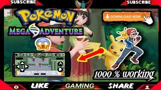 How to download Pokemon mega adventure    on android  