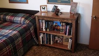 Diy Oak Mission Bookcase - Create A Family Heirloom
