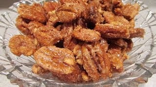 How To Make Candied  Pecan's