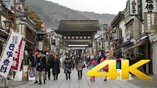 Zenko-ji Temple - Nagano - 善光寺 - 4K Ultra HD