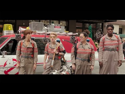 懐かしのあの音楽も!映画「ゴーストバスターズ」予告編 #Ghost Busters #movie