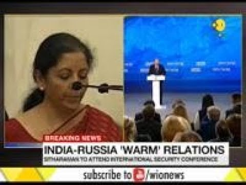 Indian Defence minister, Nirmala Sitharaman will be travelling to Russia