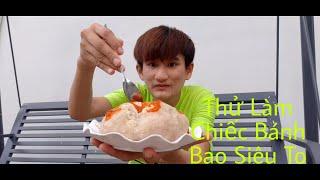 Thử Làm Bánh Bao Siêu To Khổng Lồ    Ngọc Vũ Official
