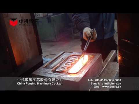 C88K 31.5KJ 1.5t ZHONGJI CNC closed die forging hammer have short stroke forging action
