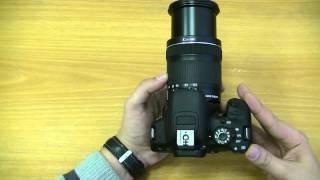 обзор canon eos 650d видео
