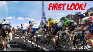 Pro Cycling Manager 2017 - FIRST LOOK INGAME GAMEPLAY!