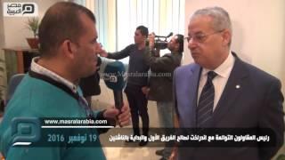 مصر العربية | رئيس المقاولون التوائمة مع اندرلخت لصالح الفريق الأول والبداية بالناشئين