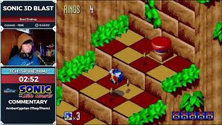 Sonic 3D Blast by TGH in 38:06 - Sonic and the Side Quests