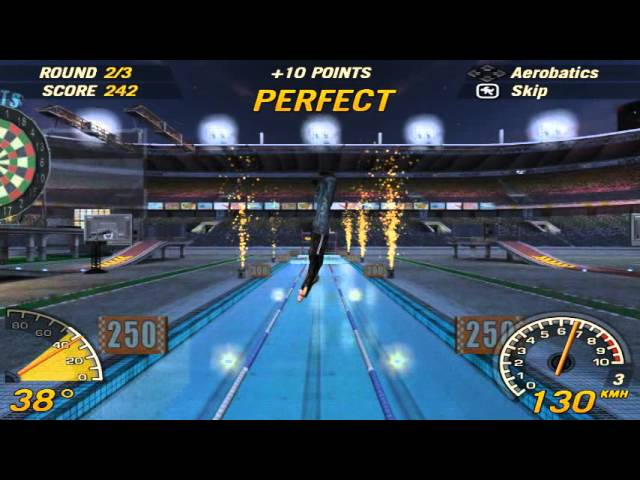 Flatout 2 Stone-Skipping 1252 points