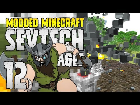 Minecraft SevTech: Ages | 12 | The MASSIVE RITUAL! | Modded Minecraft 1.12.2