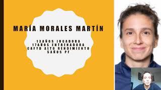 Previa de la charla sobre preparación física de María Morales Martín
