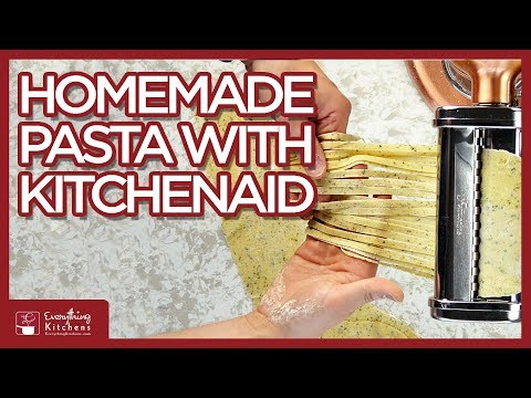 fastest homemade pasta KitchenAid {Make it now}