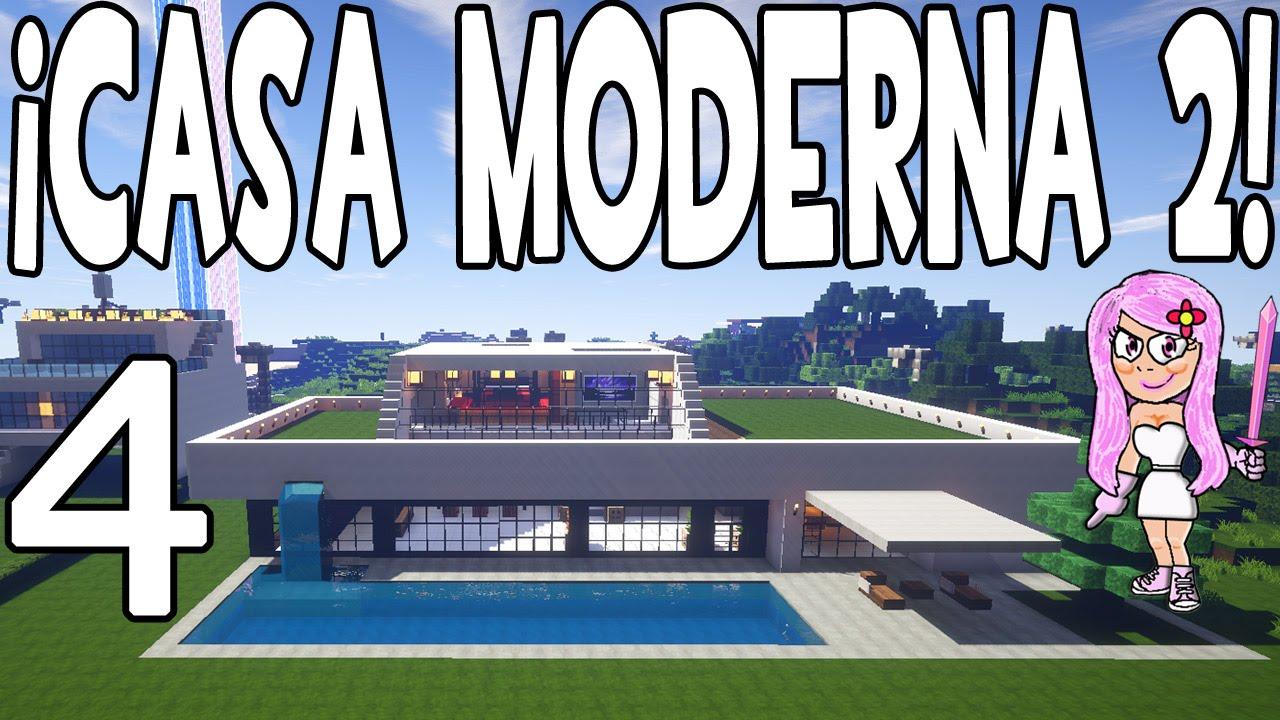 casa moderna 2 en minecraft parte 4 c mo hacer y decorar