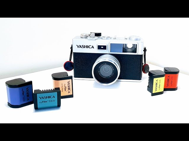 The Worlds First DIGITAL Film Camera! | Yashica Y35