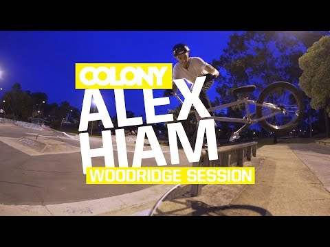 Evening session at Woodridge park in Brisbane, Alex Hiam tore the subrail apart. Thanks for watching, make sure you subscribe: http://www.youtube.com/user/ColonyBMXBrand?sub_confirmation=1...