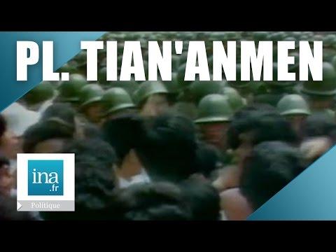 Chine : répression place Tian'anmen en juin 1989 | Archive INA
