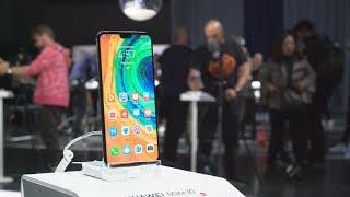 نظرة على الهاتف المحمول Huawei Mate 30