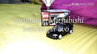 Tomica premium(Mitsubishi lancer gsr evo 3)☺️😊