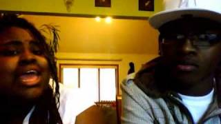 "Dynamik Duo singing ""Hypothetically"" by Lyfe Jennings feat. Fantasia"