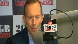 Gambar cover Abbott Vouches For Stable Leadership ~ Former prime minister Tony Abbott says he'll continue