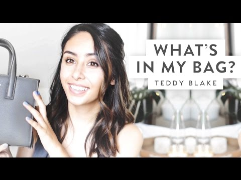 What's In My Everyday Bag TAG! | Teddy Blake