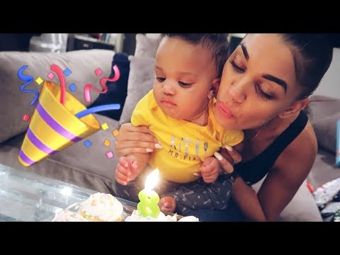 KYRIE'S 8 MONTH BIRTHDAY PARTY!!