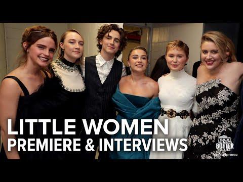 Little Women: Premiere, Interviews & Red Carpet | Extra Butter