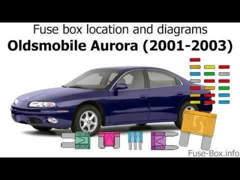 Fuse box location and diagrams: Oldsmobile Aurora (2001-2003) - YouTubeYouTube