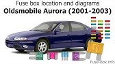 Fuse Box Location And Diagrams Oldsmobile Alero 1999 2004 Youtube