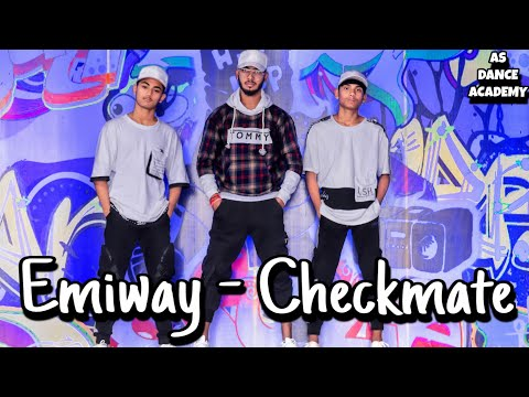 EMIWAY - CHECKMATE #1 | Choreography By Subham Shukla | AS DANCE ACADEMY | COVER  MUSIC DANCE VIDEO.