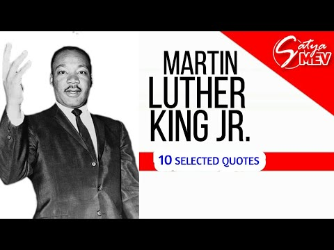 10 Inspiring Quotes of Martin Luther King Jr.