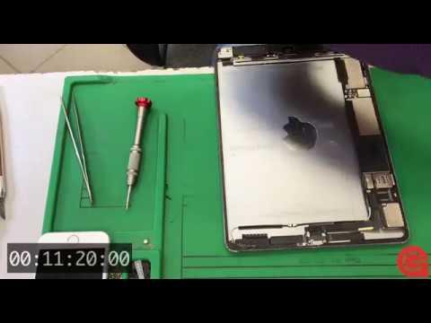 ipad mini замена аккумулятора видео
