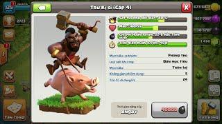NMT| Clash of clans| Thử thách đánh chay trư kị sĩ , đàn heo hùng dũng