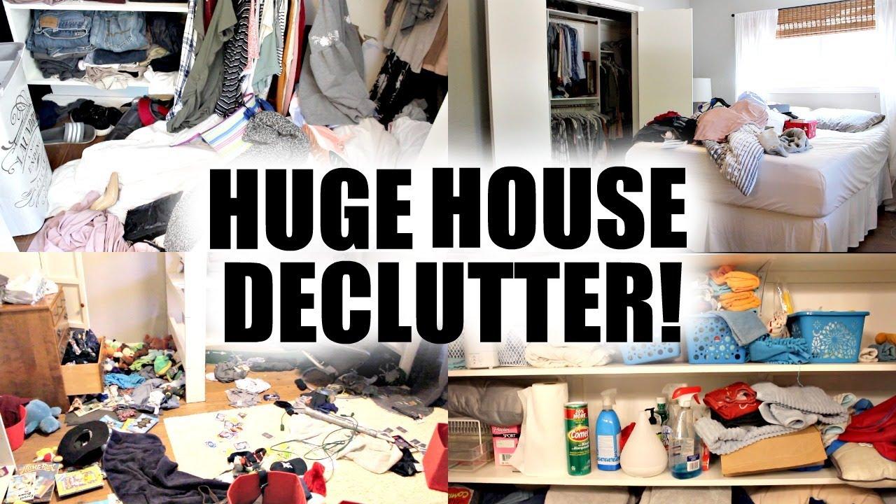Download HUGE HOUSE DECLUTTER + ORGANIZATION 2019! DECLUTTER WITH ME!
