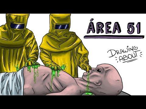 LOS MISTERIOS DEL ÁREA 51 | Draw My Life