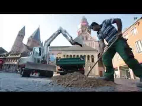 Mainz  108 Tonnen Kran auf dem Domplatz   Allgemeine Zeitung