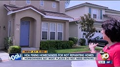 HOA fining homeowners for not repainting homes
