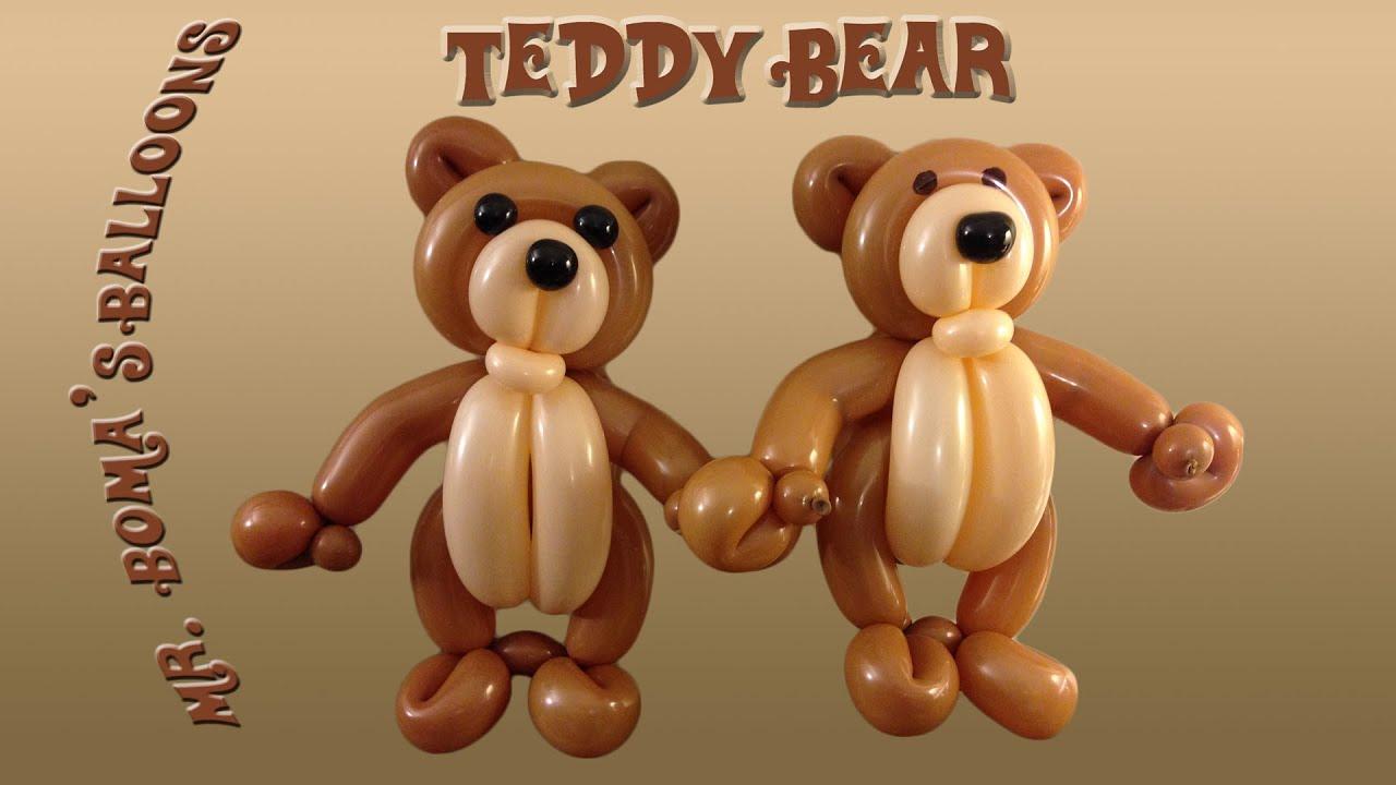 Well known Teddy Bear Balloon Animal Tutorial (Balloon Twisting and Modeling  NE05