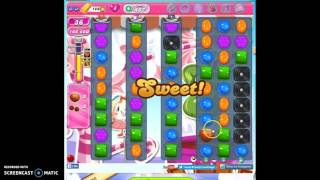 Candy Crush Level 487 help w/audio tips, hints, tricks