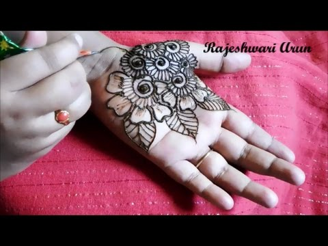 Mehndi Designs Learning Hands : Simple easy henna mehndi designs on hands step by