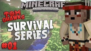 Minecraft Xbox - Tomohawk's Survival Series [1]