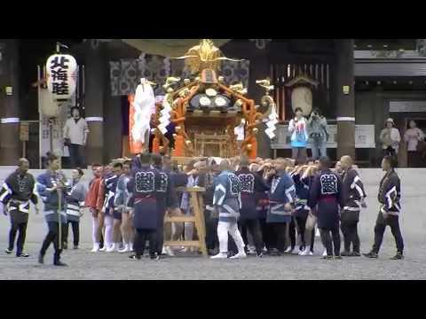 北海道神宮例大祭 神輿渡御posted by avoilealpoe
