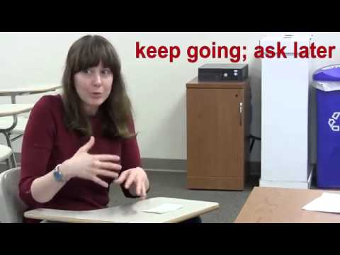 Study Skills - Taking Notes in Class (Indiana University)