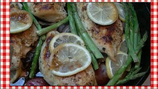 Lemon Skillet Chicken Recipe ~ Noreen's Kitchen
