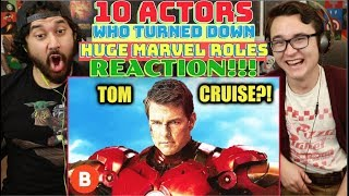 10 ACTORS Who TURNED DOWN Huge MARVEL ROLES And Why They Refused | REACTION!!!