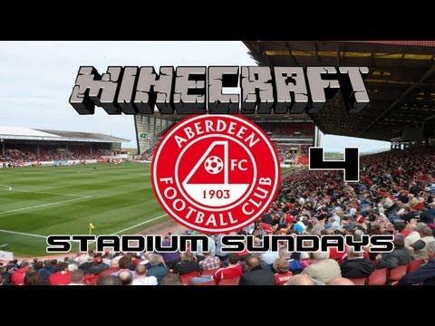 Minecraft - Stadium Sundays - Episode 4 - Pittodrie