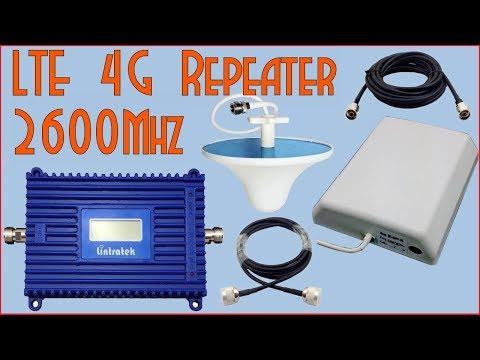 4G LTE FDD 2600Мгц(В7) Репетир . Распаковка и тест в сложных условиях