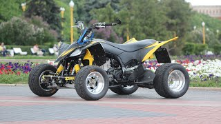 timelapse Yamaha yfz450r in Moscow!
